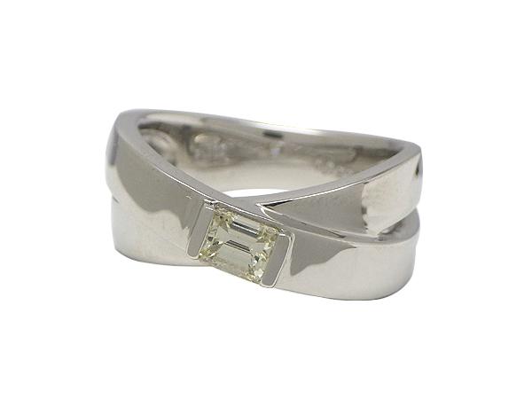 リング 指輪Pt900(プラチナ) ダイヤモンド0.359ct【実寸】11号【中古】【送料無料】【質屋出品】