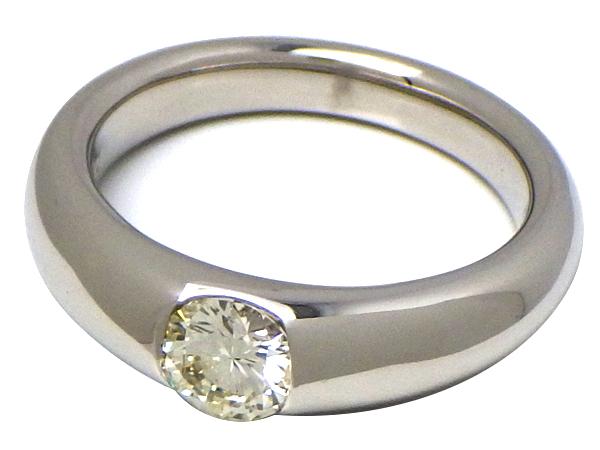 リング 指輪 Pt900(プラチナ)ダイヤモンド0.52ct 【実寸】11号【中古】仕上げ済み【送料無料】【質屋出品】