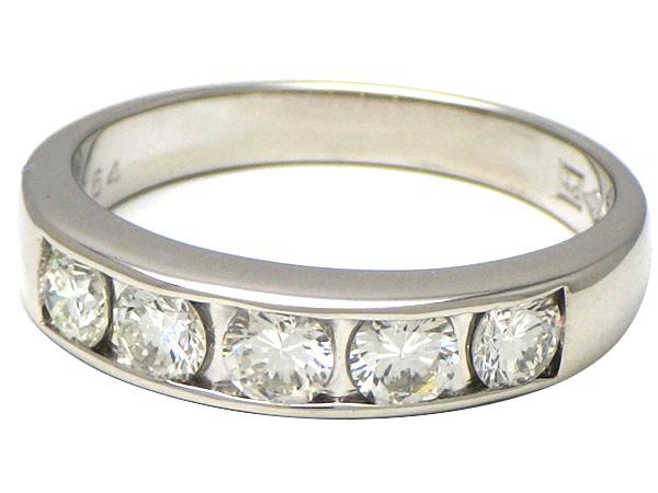 リング 指輪Pt900(プラチナ) ダイヤモンド0.64ct【実寸】11.5号【中古】仕上げ済み【送料無料】【質屋出品】