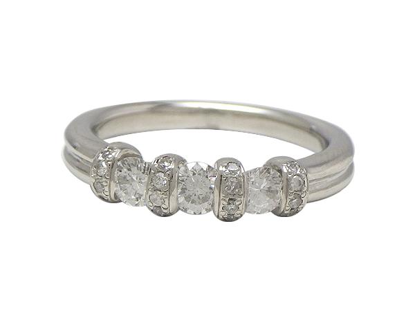 リング 指輪Pt900(プラチナ) ダイヤモンド0.52ct【実寸】12.5号【中古】仕上げ済み【送料無料】【質屋出品】