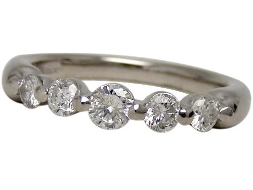 リング 指輪Pt900(プラチナ) ダイヤモンド0.50ct【実寸】12号【中古】仕上げ済み【送料無料】【質屋出品】