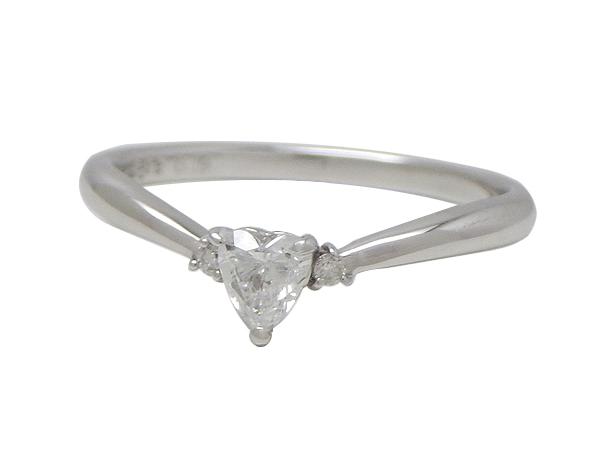 Samantha Tiara サマンサティアラリング 指輪K18WG(ホワイトゴールド) ダイヤモンド0.02/0.19ct【実寸】9号【中古】【送料無料】【質屋出品】