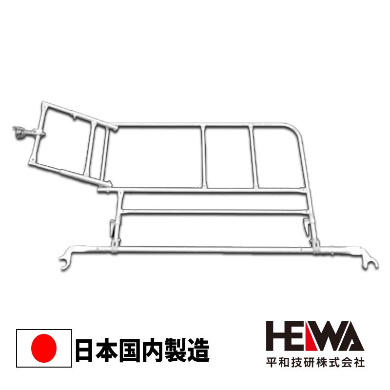 足場材 いよいよ人気ブランド Bタイプ 人気ブランド 475ピッチ 平和技研 階段開口部手摺SOR-1