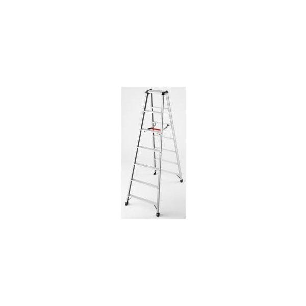 脚立 はしご:脚立ソックス DIY 脚軽 RZ2.0-21 7尺 アルミ製 SEAL限定商品 高さ1.99m 新作多数