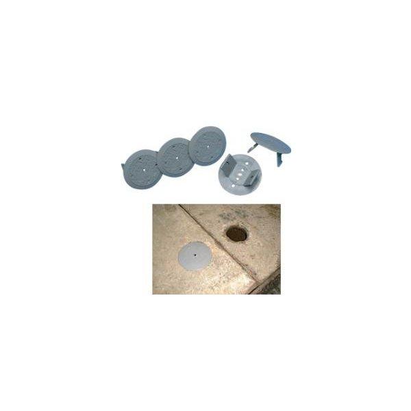 アラオ:段差カバー:キャップ DIY 覆工板Pキャップ 100個入 グレー セール アラオ製 ☆新作入荷☆新品