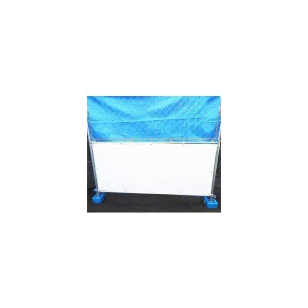 メッキフェンス:フェンス用目隠しシート DIY メーカー再生品 50枚 目隠しシート 海外並行輸入正規品