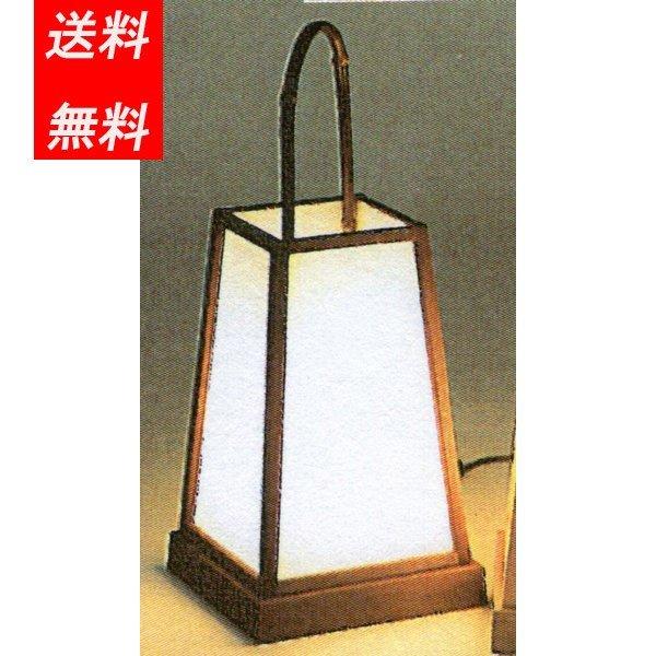杉 露地行灯 R-1B 送料無料 あんどん 木製照明