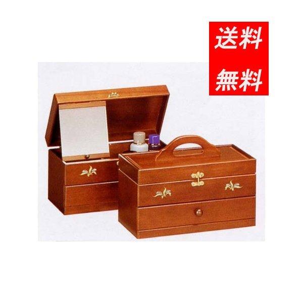 コスメボックス メイクボックス 移動が簡単 日本製 みー180 新発売 スズラン 木製 送料無料 鏡付き 日本最大級の品揃え
