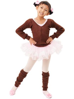 레그 워 머 아동 화이트/핑크/블랙/라벤더/수채화 물감/차 춤 발레 용품 < leg-warmer01 >