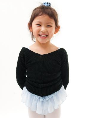 쉬 쉬 발레 스웨터 110/120/130/140/150cm 갈망 차가운 사양! 발레 용품 발레 레 어린이 아동 주니어 < kd01 >
