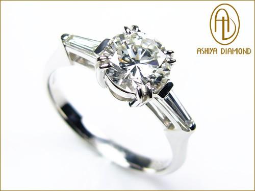 品質と安心で選ぶなら芦屋ダイヤモンド! VS1-G/ダイヤモンドリング/1.0ct 0.2ctプラチナ900指輪/芦屋ダイヤモンド/P19Jul15「39ショップ」