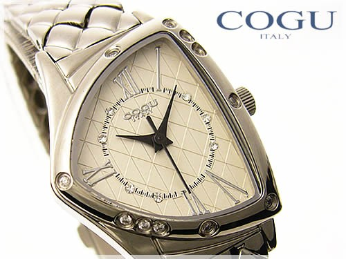 COGU ITALY(コグイタリー)レディース腕時計≪三角フェイスケース≫/P19Jul15