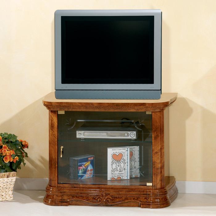 Saltarelli サルタレッリ Amalfi アマルフィ Small TV Cabinet(Walnut)