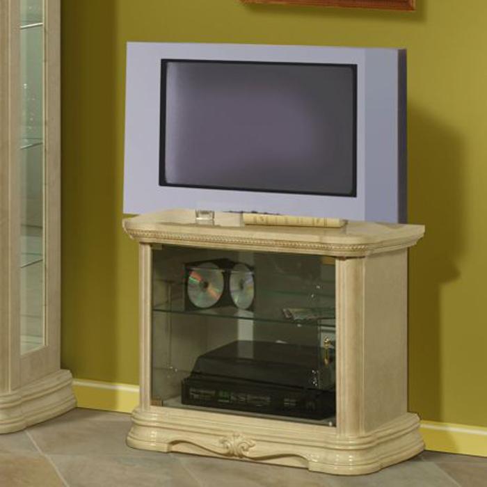 Saltarelli サルタレッリ Amalfi アマルフィ Small TV Cabinet(Ivory)