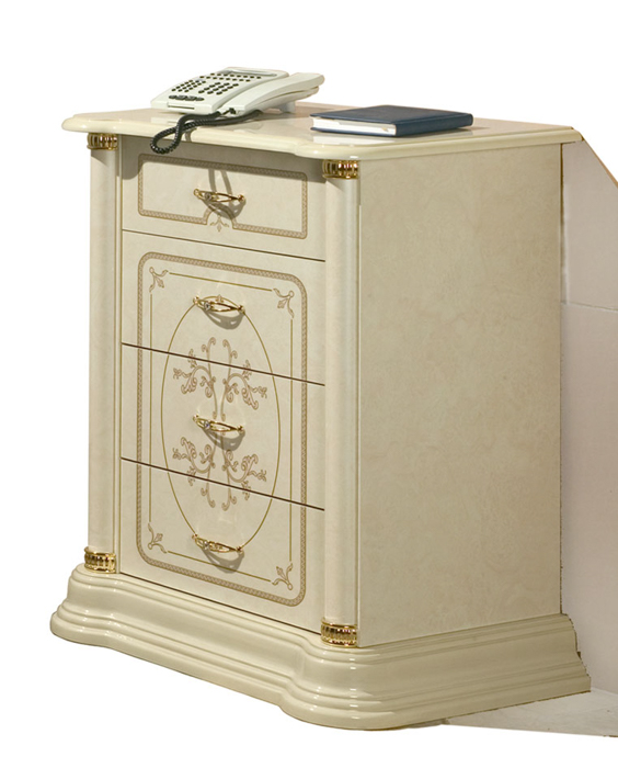 Saltarelli サルタレッリ Florence フローレンス Stereo Cabinet Drawers(Ivory)