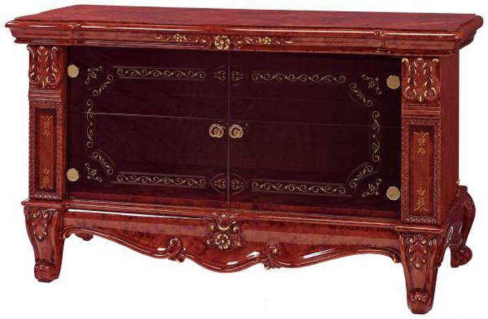 Saltarelli サルタレッリ Versailles ヴェルサイユ Plasma TV Cabinet Small(Walnut)