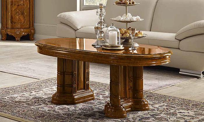 Saltarelli サルタレッリ Versailles ヴェルサイユ Coffee Table(Walnut)