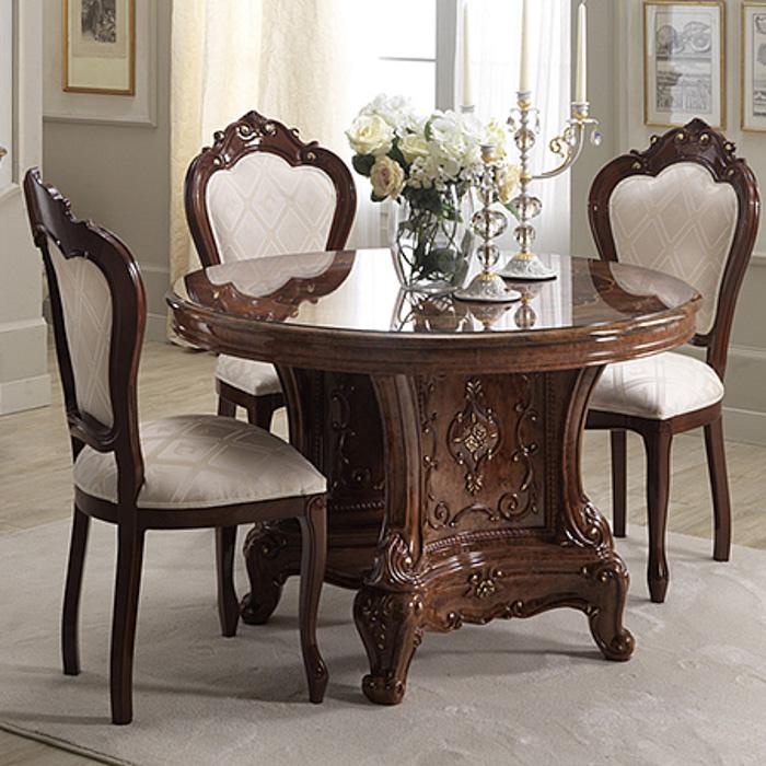 Saltarelli サルタレッリ Versailles ヴェルサイユ 115Fix Table(H72cm)(Walnut)