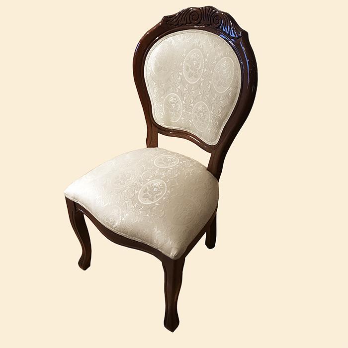 Saltarelli サルタレッリ Amalfi アマルフィ Chair(Walnut/Fabric)