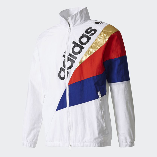 adidas アディダス Tribe Windbreaker Track Jacket BQ2014