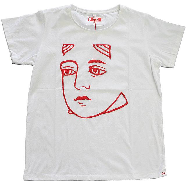 キャンペーンもお見逃しなく OK NEW売り切れる前に☆ オーケー 刺繍Tシャツ WHT QUEEN