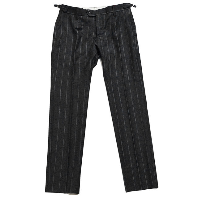 brusco,k ブルスコ スラックス antique trousers【D1515】 gray