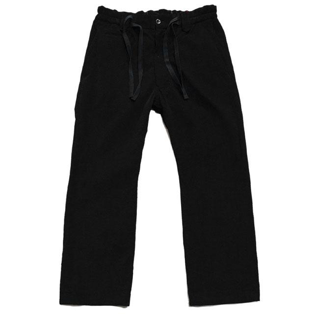 brusco,k ブルスコ パンツ wide trousers black