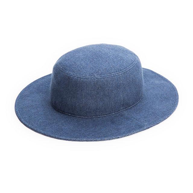 Racal ラカル ロングブリムバケットハット【RL-15-786】 BLUE
