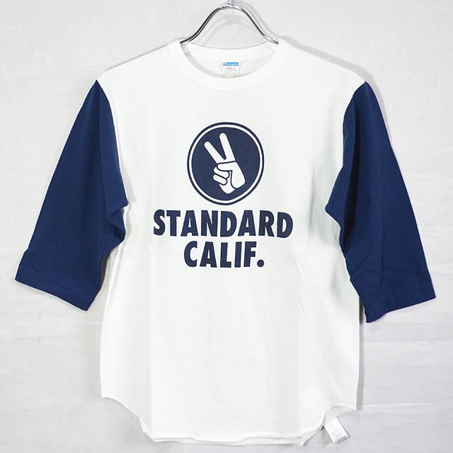 スタンダードカリフォルニア Standard California CHAMPION×SD Baseball T TSBCA128