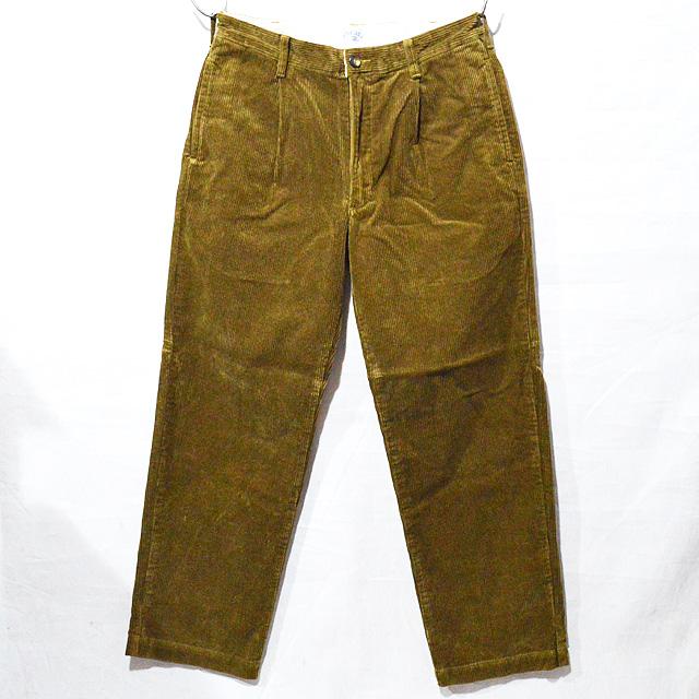 スタンダードカリフォルニア Standard California SD Pleated Corduroy Pants 18AW BTKPA188