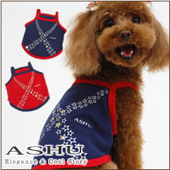 Dog clothing MilkyWay Camisole / dog summer clothes small dogs medium dogs / toy poodle Chihuahua Yorkie Shih Tzu / following dog clothes Rakuten _ store _ dog apparel _ heat _ ASHU