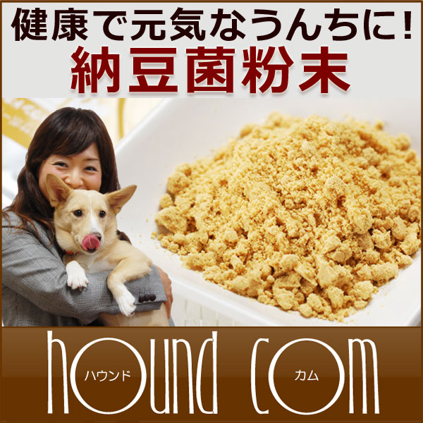 Eat probiotics natto bacteria powder 50 g dog homemade food 5P13oct13_b