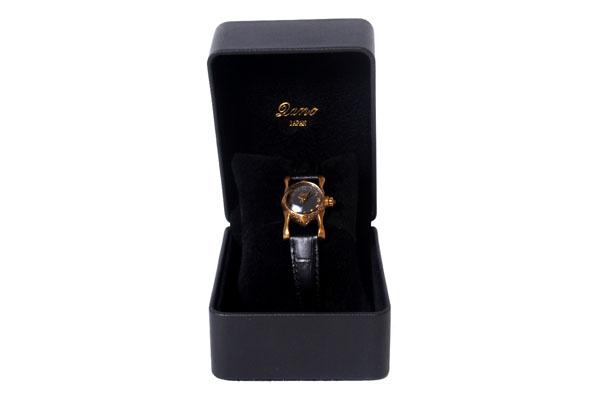 ♪ポイント5倍♪【送料無料】【Lano/ラノ】オリジナル ハンドメイド 腕時計 マーキス ブラック