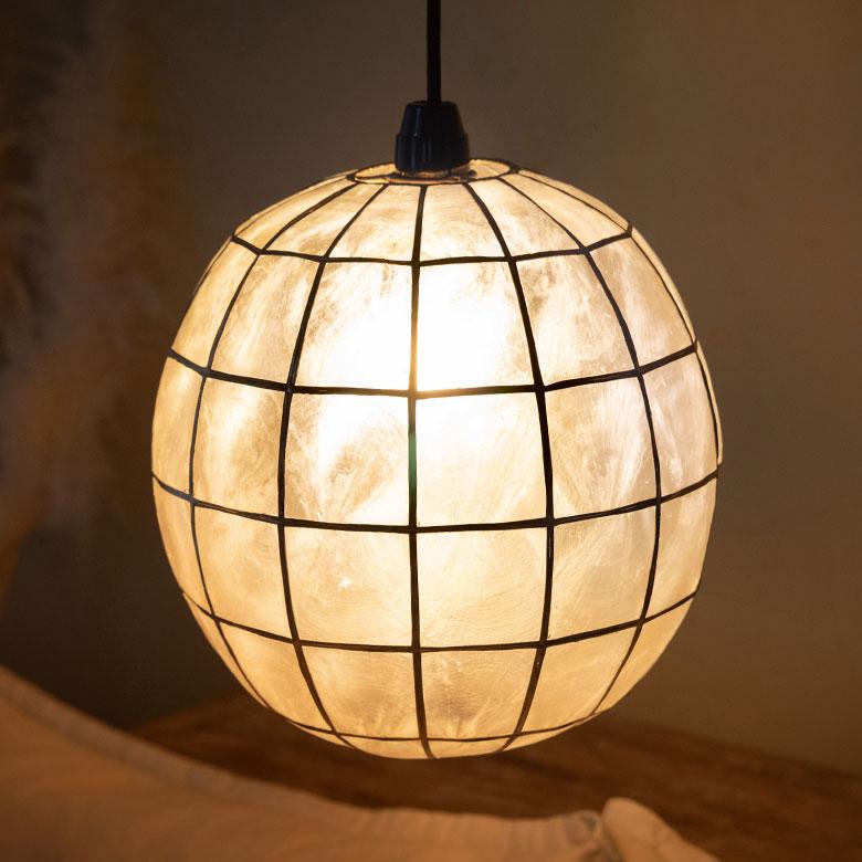Asian Lighting Capisce Pendant Light Ramp 10134
