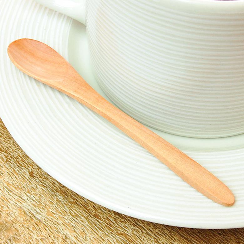 Cute Little Wooden Spoon In The Wald S 10154