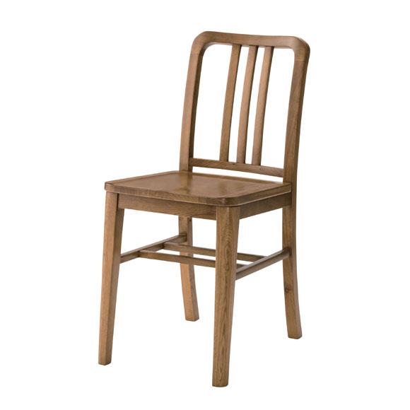 ダイニングチェア 椅子 天然木 完成品 オーク [91242]【 いす チェアー 木製チェア 座面高47cm おしゃれ 北欧 】
