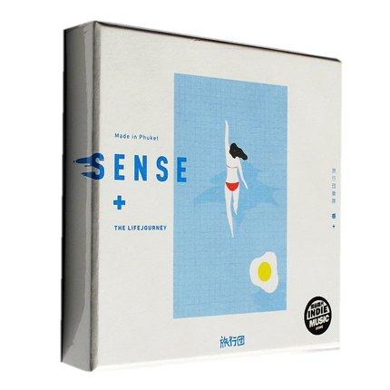 旅行團樂隊/ 感+ (CD) 中国盤 SENCE + ライフジャーニー The LifeJourney