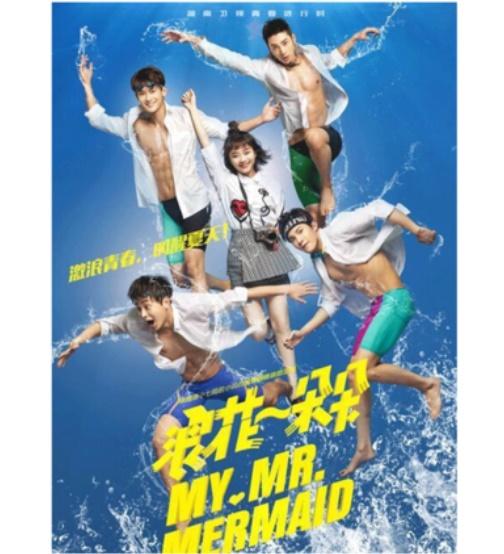 中国ドラマ/ 浪花一朵朵 -全37話- (DVD-BOX) 中国盤 My Mr.Mermaid