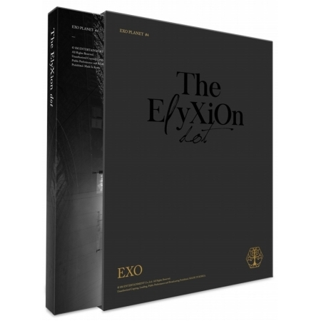 EXO/ EXO PLANET #4 -THE EℓYXION [DOT] (2CD+PHOTOBOOK) 韓国盤 エクソ プラネット ドット ELYXION エリシオン LIVE