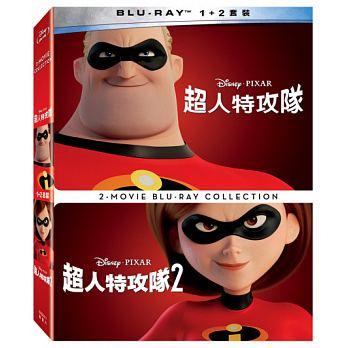 映画/ Mr.インクレディブル+インクレディブル・ファミリー (2Blu-ray) 台湾盤 The Incredibles 1+2 2-Movie Collection ブルーレイ