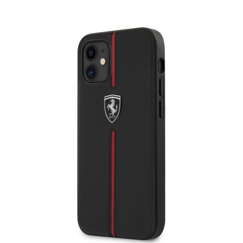 フェラーリ iPhone12mini ケース 送料無料 本革 背面ケー テレビで話題 背面ケース PC 主な材質:本革+TPU 父の日 メール便配送