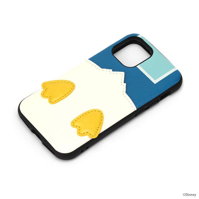 新作入荷 iPhone12mini ケース ディズニー ドナルド タフ メール便配送 ディズニーキャラクターデザインのiPhone タフポケットケース 父の日 公式ショップ ドナルドダック 12 mini用タフポケットケースです