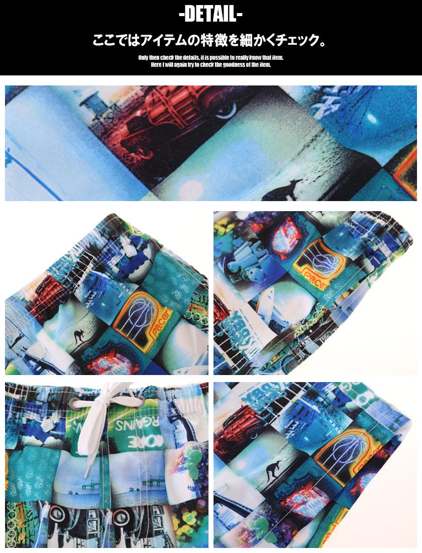 【SEOBEAN/セビン】フォトアート柄ボードショーツ 男性水着 スイムパンツ ショートパンツ型スイムウェア サーフパンツ サーフトランクス サーフショーツ 海水パンツ 海パン 水泳 海水浴 夏 ビーチウェアメンズ 水着 パンツ