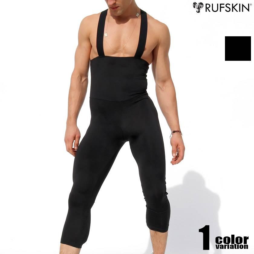 RufSkin/ラフスキン IVAN 上下一体型スポーツインナー レスリングウェア型インナー 男性下着 メンズ パンツ ショルダーボクサーパンツ 上下一体型