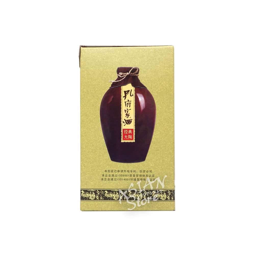常温便 白酒 (人気激安) 孔府家酒経典大陶38°500ml 6901221951512 送料無料激安祭