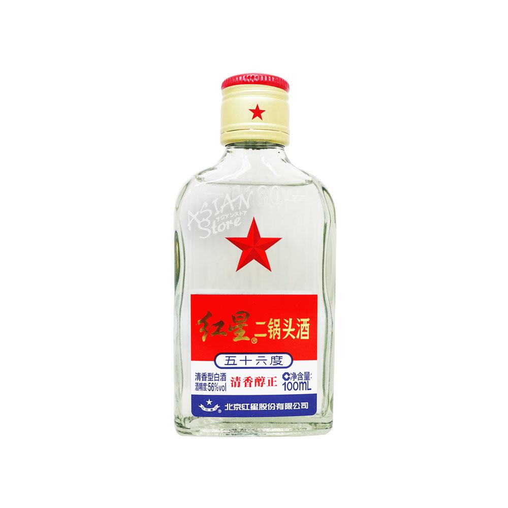 【常温便】【白酒】紅星二鍋頭100ml 【6906785230165】