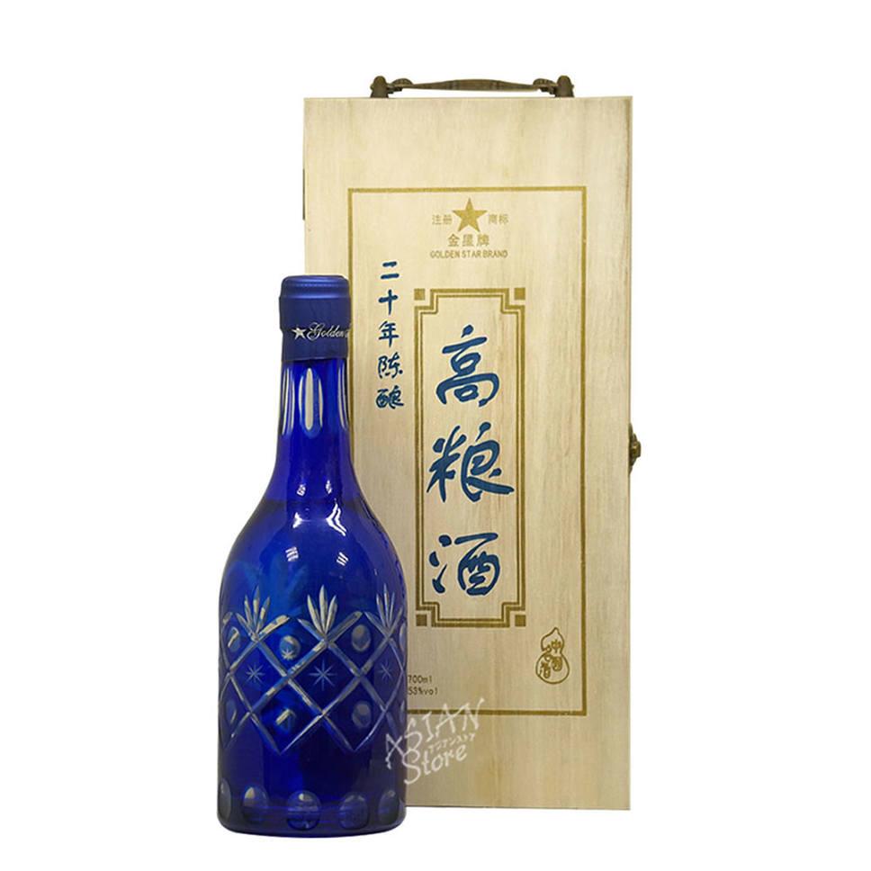 【常温便】【白酒】二十年陳醸高粱酒700ml【6926386000202】