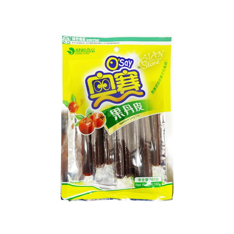 常温便 国内即発送 サンザシのお菓子 6922017022209 海外並行輸入正規品 奥賽果丹皮160g