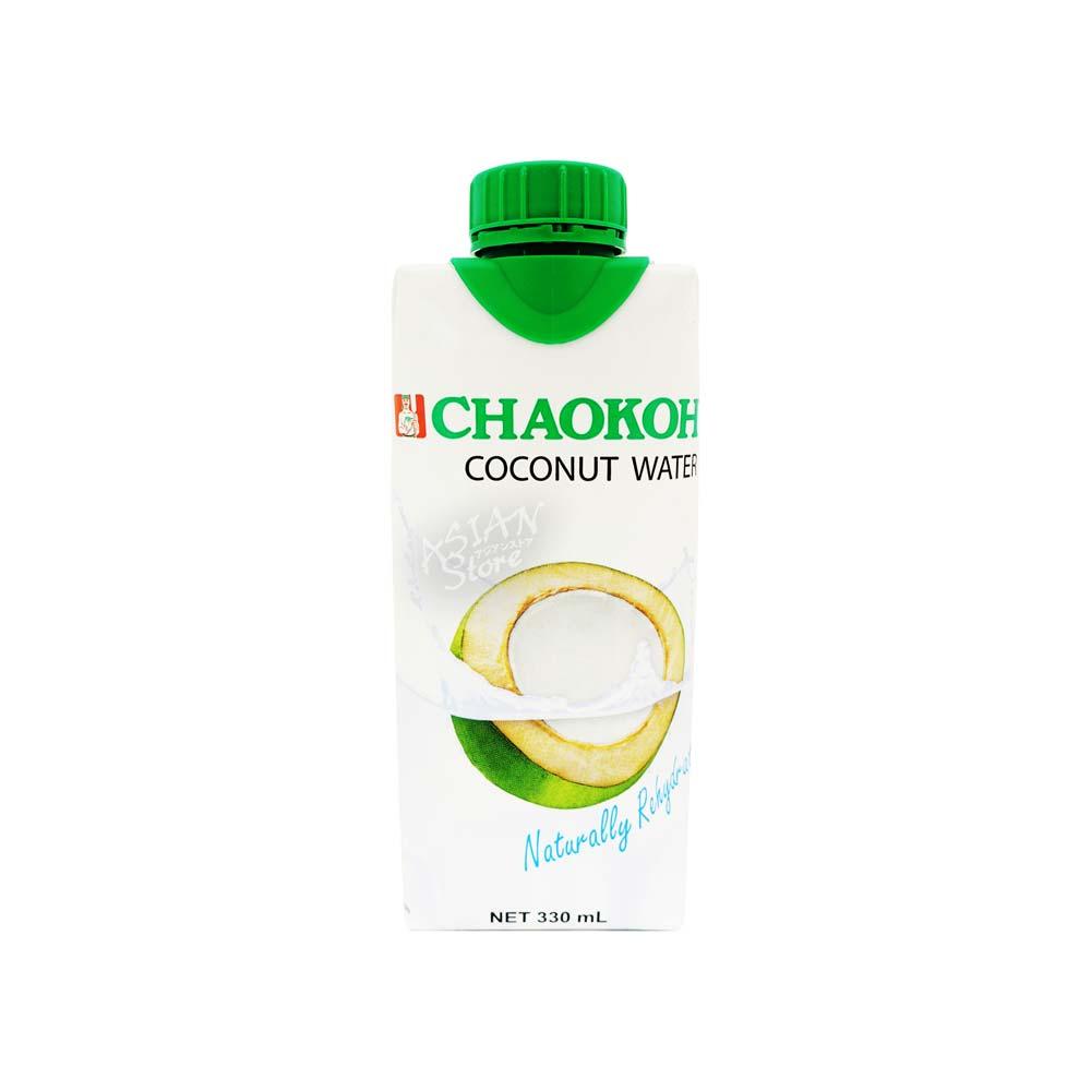 常温便 チャオコータイココナッツウオーター CHAOKOH泰国純椰子汁330ml 8850367992140 実物 宅送