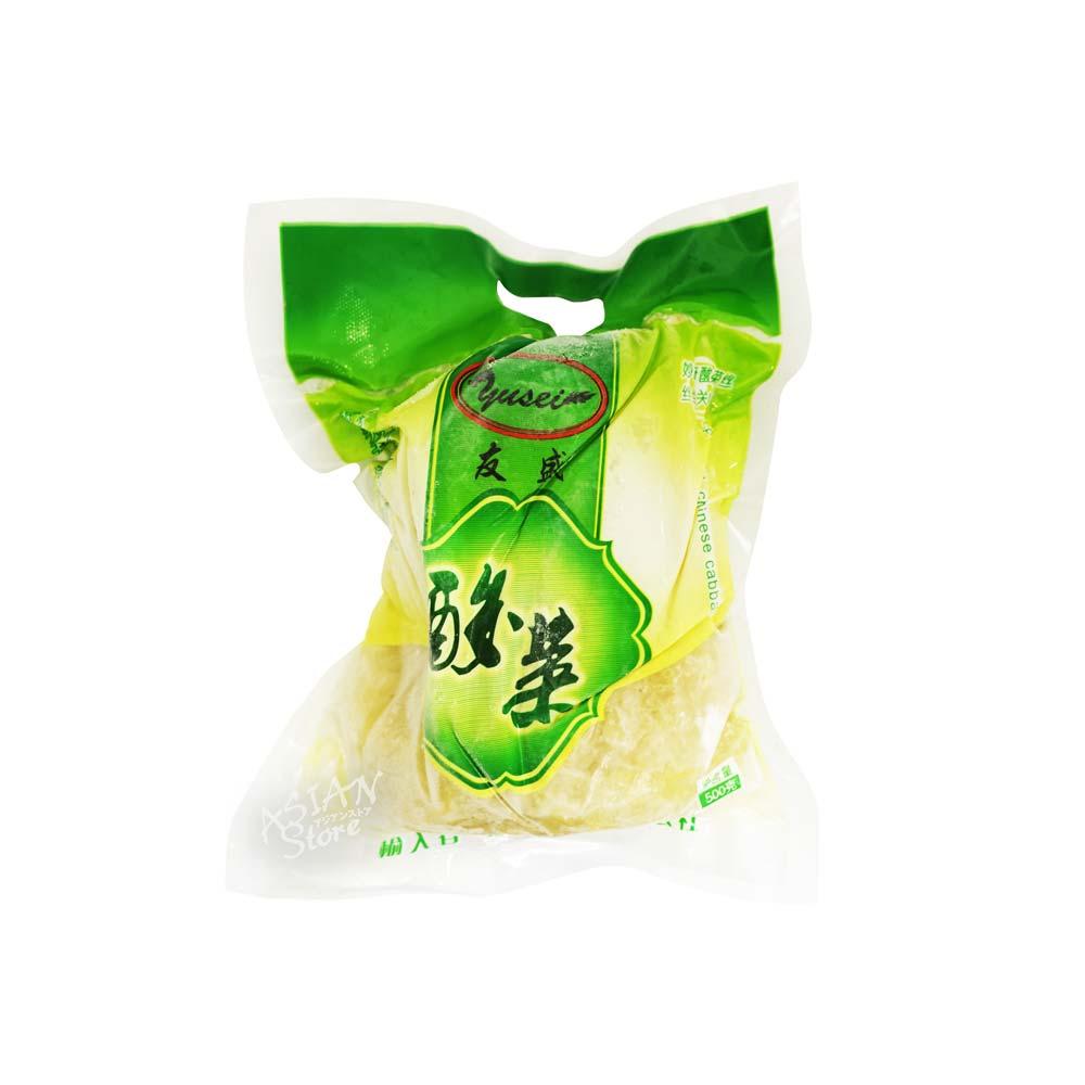 高級 人気急上昇 冷凍便 友盛白菜の酢漬 細切り 4528462600744 友盛酸菜絲500g